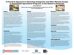 A Practical Approach to Attracting Immigrants and Other Minority