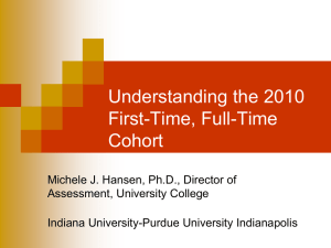 Enrollment Trends and Student Success at IUPUI