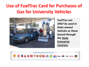 Fuel Purchase Card Training