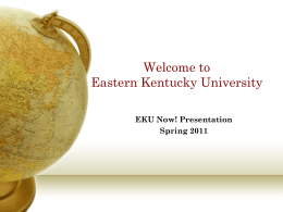 Welcome to Eastern Kentucky University Corbin Campus