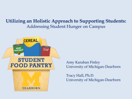 Utilizing an Holistic Approach to Supporting Students