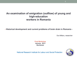 An examination of emigration (outflow) of young and