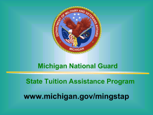 Michigan Department of Military and Veterans Affairs