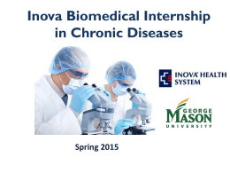 Internship Program Details - Center for Study of Chronic Metabolic