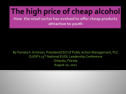 The high price of cheap alcohol