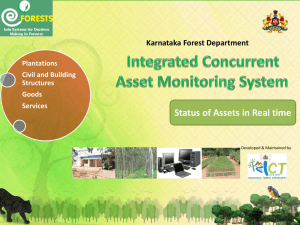 Integrated Concurrent Asset Monitoring System in