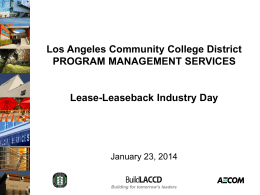 Building for tomorrow`s leaders Los Angeles