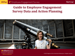 Guide to Understanding E 2 Employee Engagement Survey Results