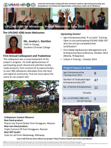 Project Newsletter - University of Hawaii at Manoa