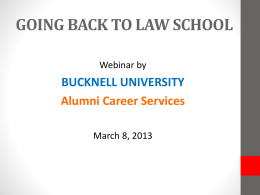Speaker Bios - Bucknell University