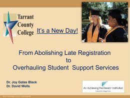 Tarrant County College Board Orientation