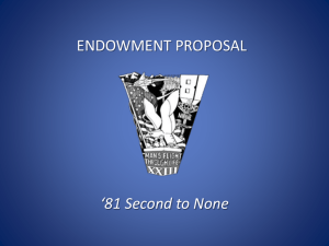 *81 Second to None - USAFA `81 Endowment | `