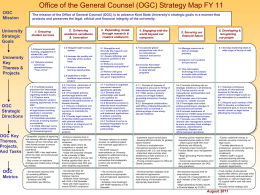 General Counsel Strategy Map