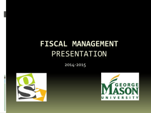fiscal management presentation 2014-2015