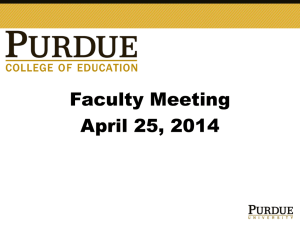2014-04-25 Faculty Meeting - Education IT