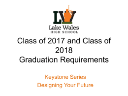 Class of 2017_Grad Requirements