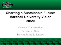 Campus Conversation on Services Portfolio Review