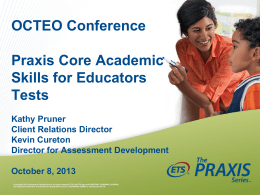 Core Academic Skills for Educators Tests
