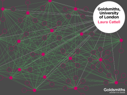 INTRODUCTION TO GOLDSMITHS, UNIVERSITY