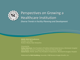 Perspectives on Growing a Healthcare Institution Diverse