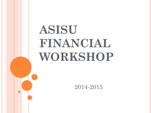 Financial Workshop 14-15