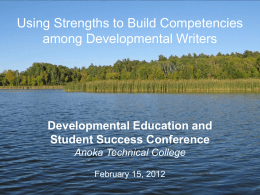 NEW Developmental strengthsquest-presentation