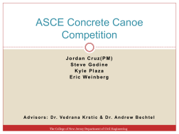 File - ASCE Concrete Canoe Competition