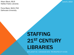 Hiring for 21st Century Libraries