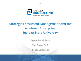 SEM and the Academic Enterprise