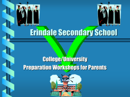 Erindale Secondary School