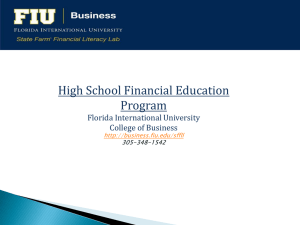 What is a Market? - FIU College of Business