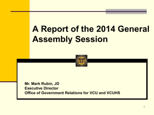 2014 General Assembly Summary