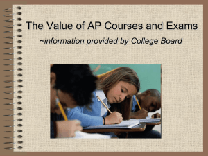 Advanced Placement - NYOS Charter School