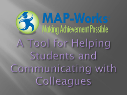 K-State MAP-Works impacts student success by