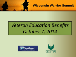 Veteran Education Benefits