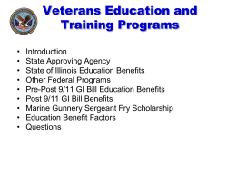 A Guide to Your GI Bill Educational Benefits