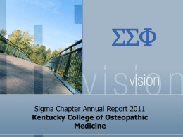 Kentucky College of Osteopathic Medicine