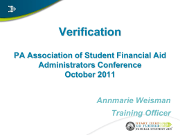 Fundamentals of Title IV Administration