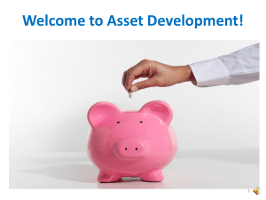 What is Asset Development? - Indiana Institute on Disability and