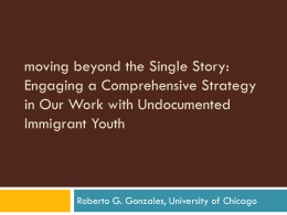 mexican migrants and their children: family dynamics in an era of