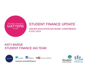 Finance Pkg No Gra - Insight – University of Gloucestershire