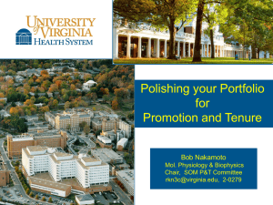 Teaching Portfolio - School of Medicine