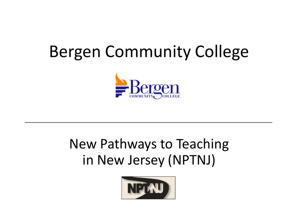 New pathways to teaching in new jersey information session 1betcityfo Images