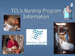 TCL Health Science Programs: