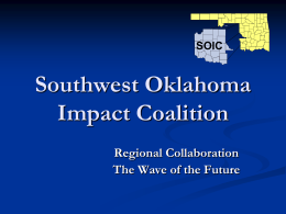 SOIC - Oklahoma State Regents for Higher Education