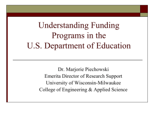 Demystifying the U.S. Department of Education