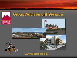 Saddleback college work study