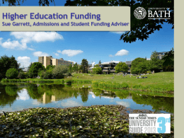 Bath University – advice - The John of Gaunt School