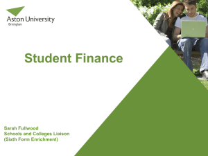 Aston Uni Finance Presentation