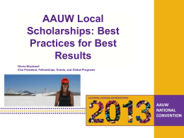 Local Scholarships-Best Practices for Best Results